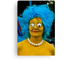 Will the real Marge stand up! Canvas Print