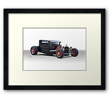 1920s 'Not a Ford' Hot Rod Coupe Framed Print