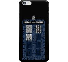 Who's Your Companion iPhone Case/Skin