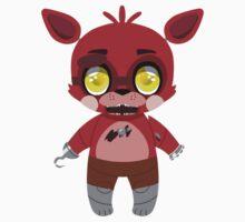 Five Nights at Freddy's Chunkstar Sticker -  Foxy by ChunkDesign