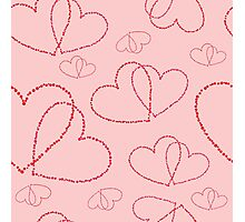 Hearts Photographic Print