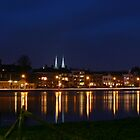 Deventer, Dutch City @ the IJssel River by marcovw