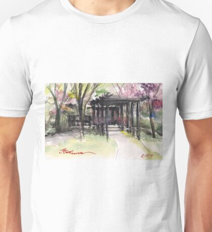 Maxell's Cherry Gardens. Telford, Shropshire, England Unisex T-Shirt