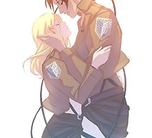 Ymir and Krista by denimcatfish