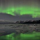 Aurora Borealis - Jokulsarlon Glacial Lagoon, Iceland by Kasia Nowak