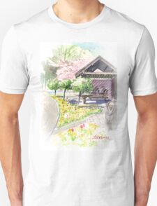 Spring in Maxell Cherry Gardens T-Shirt