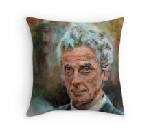 Peter Capaldi Throw Pillow