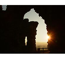 Denbigh Castle, N.Wales. UK Photographic Print