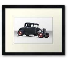 1930 Ford Model A 'HiBoy' Coupe Framed Print