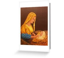 The Word Was Made Flesh Greeting Card
