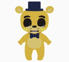 Five Nights at Freddy's Chunkstar Sticker -  Gold Freddy by ChunkDesign