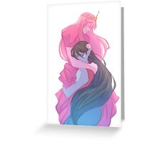 Bonnibel and Marcy Greeting Card