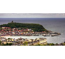 Scarborough from Oliver's Mount Photographic Print