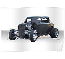 1932 Ford 'Blower Motor' Coupe Poster