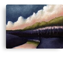 Stillwater Convergence Canvas Print
