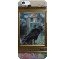 Two Crows - Framed iPhone Case/Skin