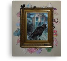 Two Crows - Framed Canvas Print