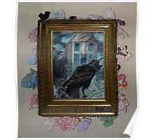 Two Crows - Framed Poster