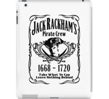 Jack Rackhams Pirate Crew iPad Case/Skin