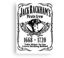 Jack Rackhams Pirate Crew Canvas Print
