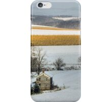 Cold Winter Sunrise iPhone Case/Skin