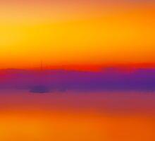 Sunset Key Largo by Lou Novick