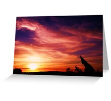 amazing skylight among us Greeting Card