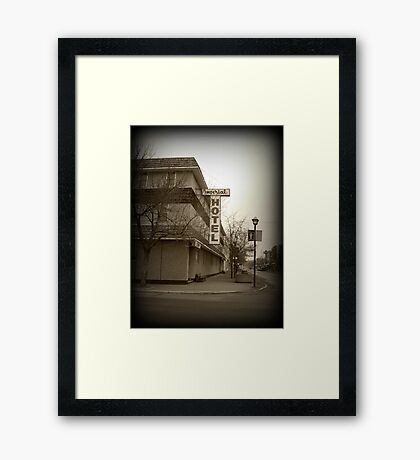 100 Years of History Framed Print