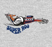 Super Roo 70's Dragster Kids Tee
