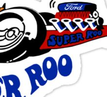 Super Roo 70's Dragster Sticker