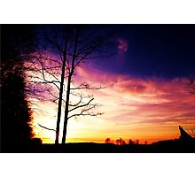 sunsets beauty Photographic Print