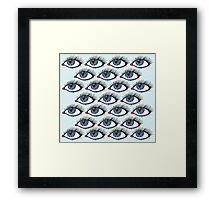 Awry Designs Eyes Framed Print