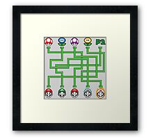 Power Puzzle Framed Print