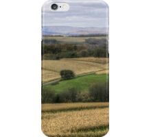 Forgotten Farmhouse In Late Fall (Full View) iPhone Case/Skin