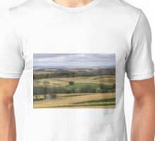 Forgotten Farmhouse In Late Fall (Full View) Unisex T-Shirt