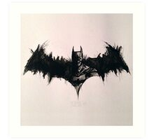 Batman Ink Art Print