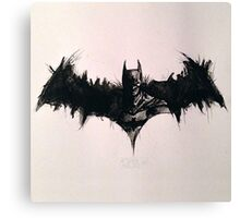 Batman Ink Canvas Print
