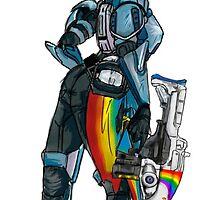 Rainbow Titan by TKaiser