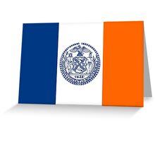 Flag of New York City  Greeting Card