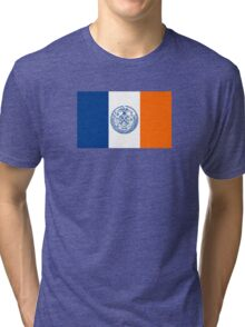 Flag of New York City  Tri-blend T-Shirt