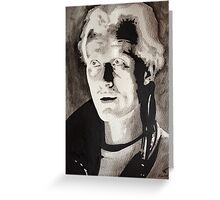 Blade Runner Rutger Hauer Roy batty  Greeting Card