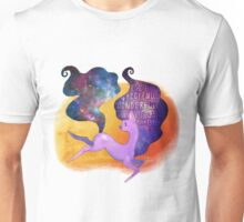 You are Fearfully and Wonderfully Made Heavenly Horse Galaxy Print Unisex T-Shirt