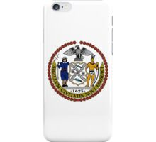 Seal of New York City  iPhone Case/Skin