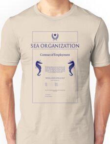 Sea Org Contract Unisex T-Shirt