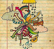 Notebook World by Duru Eksioglu