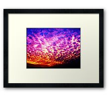 the days end Framed Print
