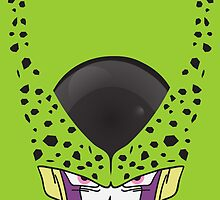 Cell Perfect Form T-Shirt - Dragon Ball Z by kebuenowilly