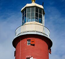 Lighthouse Detail: Smeaton's Tower Plymouth Hoe UK by DonDavisUK