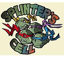TMNT - Splinter's Cell - V02 Photographic Print