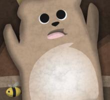 Too much honey to Bear Sticker
